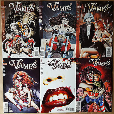 Vamps #1-6 Complete Set DC/Vertigo 1994 Brian Bolland NM