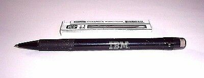 Vintage IBM Electrographic 0.5mm Clicker Mechanical Pencil + 20 2B Refills NOS!