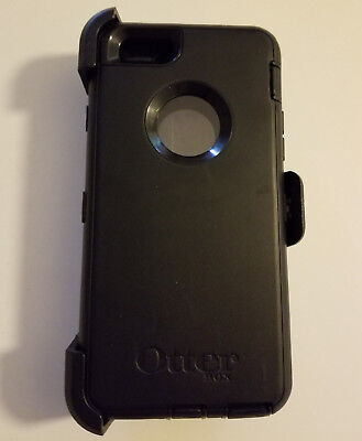 New OtterBox Defender Series black Case for the iPhone 6 & iPhone 6s Clearance