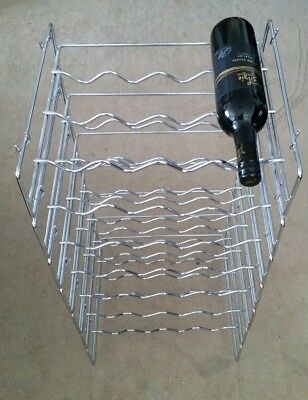 Stackable Wine Rack Barware Storage Organiser Stand  4 8 12 16 20 24 28 Bottles