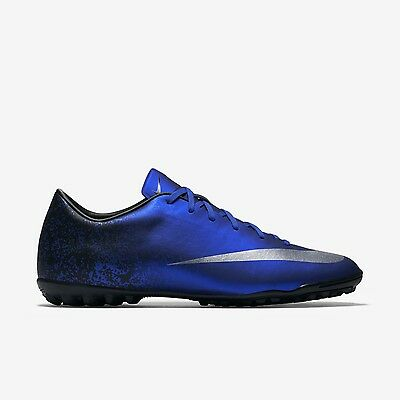 68a8b0f28 NIKE MERCURIAL VICTORY V CR7 TF Soccer Cleat (684878-404) Men s Size ...