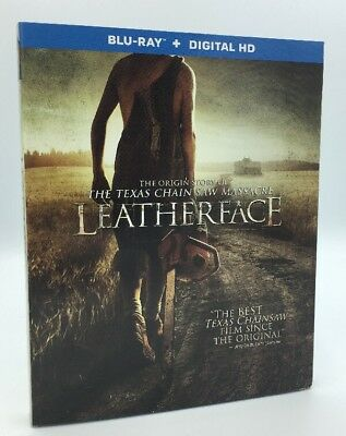 Leatherface (Blu-ray+Digital HD; 2017) NEW w/ Slipcover