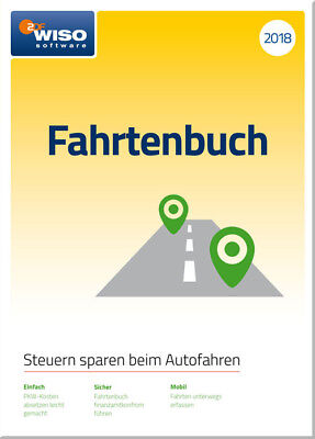 Download-Version WISO Fahrtenbuch 2018