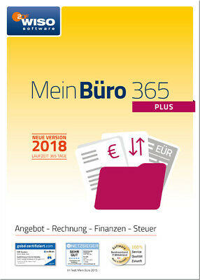 Download-Version WISO Mein Büro 2018 - 365 - Plus