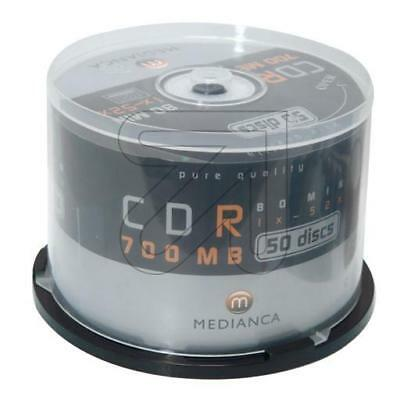 CD-Rohlinge 50`Spindel CD-R 700MB/80min. (9829353410)