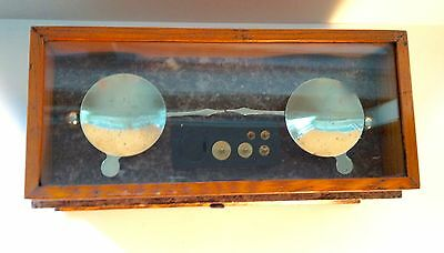 Antique Christian Becker Pharmacy Druggist Chemist Apothecary Torsion Scale