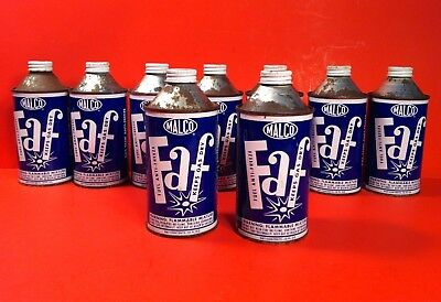 Vintage 1959 Malco FAF Oil Old Tin Can RARE CAN Sale Is For One Can Only