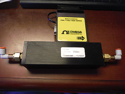 Omega Mass Flow Meter FMA 1843 With Display