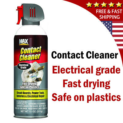 Electronic Cleaner Contact Spray Clean Screen for Electrical Device Quick Drying