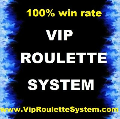 Best Roulette System On Ebay! 100% Win Rate Guaranteed. Win At Roulette Now!