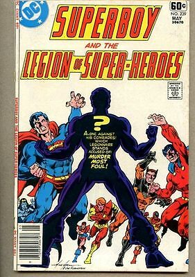 Superboy #239-1978 fn- The Legion Of Super-Heroes Giant-Size