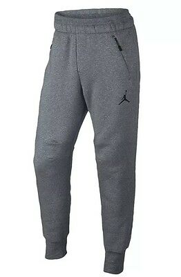 6383d683ea4197 Nike  90 Air Jordan ICON Fleece Cool Gray Cuffed Sweatpants (809472 065) -  XL
