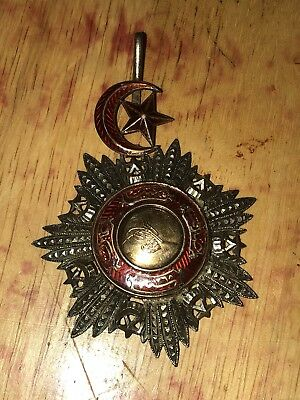 Rare Antique Ottoman Empire Turkey Turkish Order of Medjidie Second Class