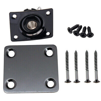 Rectangular 1/4'' 6.35mm Output Jack Plate with Neck Plate for LP SG Guitar