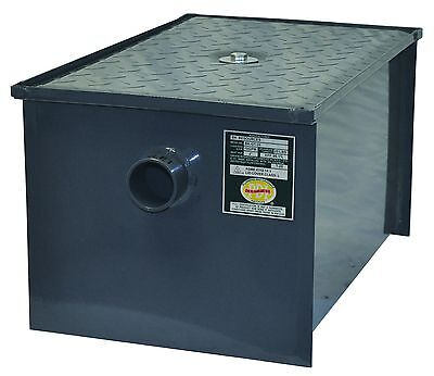 100 pound steel grease trap