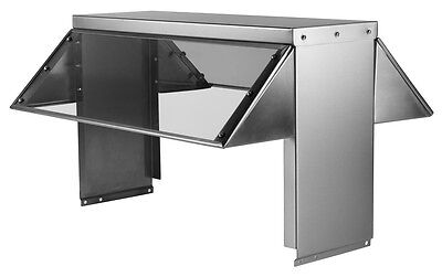 """78"""" Universal Buffet Sneeze Guard for 5 Well Steam and Cold Pan Tables"""