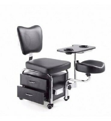 Pedicure Foot Spa Chair Hydraulic Spa Station Stool New