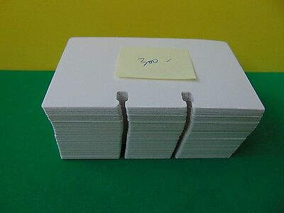 """300 Genuine Rolodex Rotary Refill Cards 3 x 5"""" Made in USA Unused Off White"""