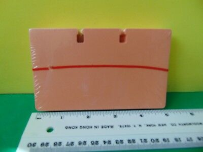 """100 Genuine Rolodex Rotary Refill Cards 3 x 5 """" Salmon New & Sealed"""