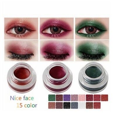 Shimmer Long-lasting Waterproof Glitter Eye Shadow Gel Metalic Eyeliner Cream