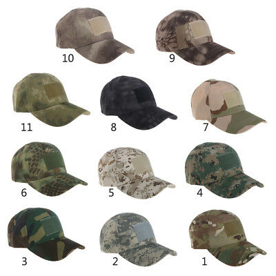 ec4254ae50e515 Military Tactical Camouflage Hat Outdoor Hunting Baseball Cap Men Army Camo  Caps
