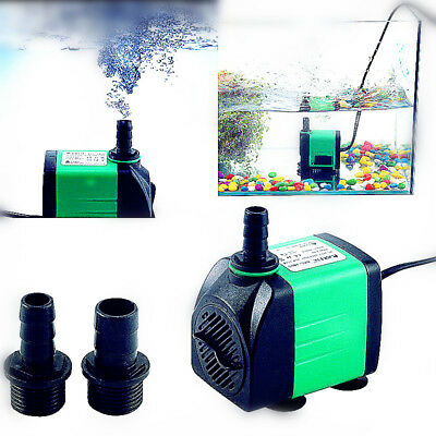 Pompe à eau 420-1800l/h Submersible 5types pour Aquarium Bassin Poisson 220-240V