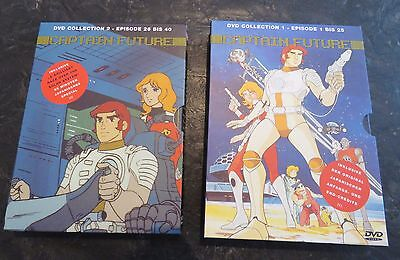 ERSTAUFLAGE  Captain Future DVD Collection 1 + 2, NEU, 100% Sammlerzustand