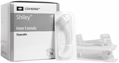 Covidien Shiley Disposable Inner Cannula (8DIC) 7.6 mm Size 8, Box Of 10