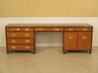 F25369E: BAKER Collectors Edition Satinwood Campaign Office Credenza