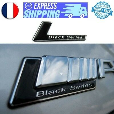 Logo BLACK Series pour AMG Mercedes emblem aufkleber badge sigle stickerLogo BLA