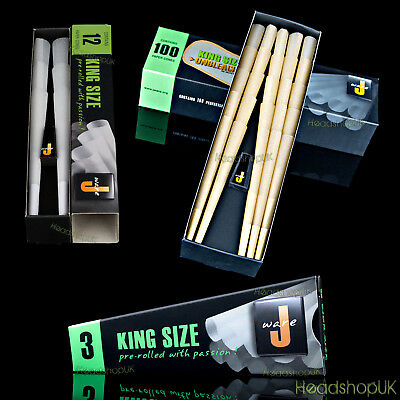 JWare - Perfectly Pre-Rolled Kingsize Smoking Cones with Roach Filter