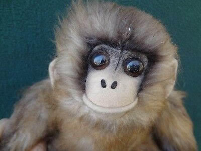 MONKEY Vintage 1968 Plush Stuffie By Kamar