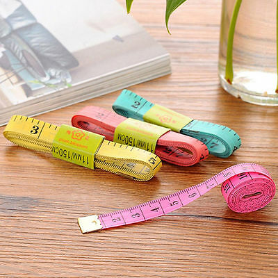 3/10Pcs Colorful Waist Body Tailoring Cloth Tapes measuring Soft Rulers Tools