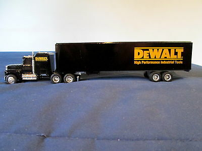 """""""dewalt""""- With A  Ford Cab And Trailer By The Ertl Company - 1/64 Scale"""