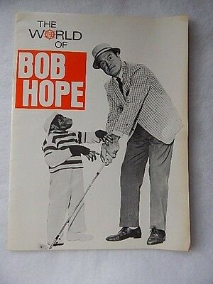 Vintage 1970's The World of Bob Hope by NBC-32 Pages