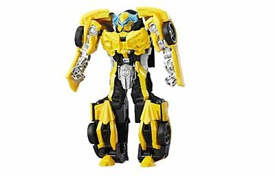 Transformers Last Knight Premier Edition Armor Turbo Changer Bumblebee  power-up