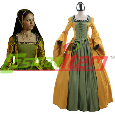 Queen Anne Boleyn Renaissance Faire Tudor Court or Wedding Costume Dress