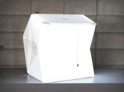 "Foldio3 25"" Inch All-in-One Photography Studio Tent Box (Includes LED Lights and"