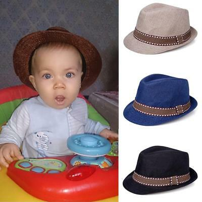Baby Jazz Cap Bucket Sun Cap Summer Hat For Girls Boys Hat Props Fashion HF