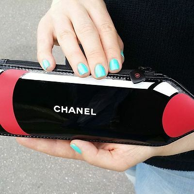 NEW VIP gift from Chanel beauty counter make up bag Le Rouge Crayon NIB