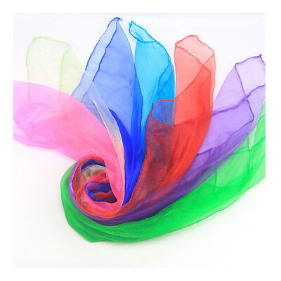 Women Traditional Square Chiffon Soft Neck Head Scarf Stage performance Scarves