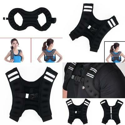 Weighted Vest Home Gym Running Fitness Weight loss Strength Jacket 5kg