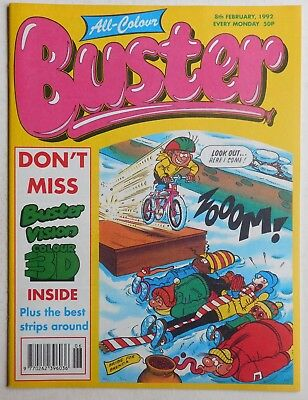 BUSTER COMIC - 8th February 1992