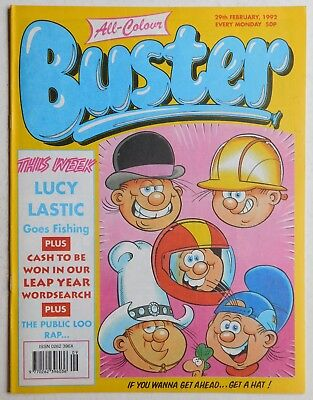 BUSTER COMIC - 29th February 1992