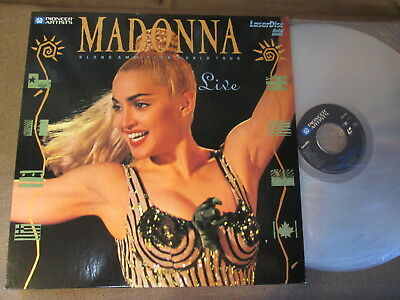 MADONNA Blond Ambition World Tour Live JAPAN Laser Disc PILP-1010 US:PA-90-325
