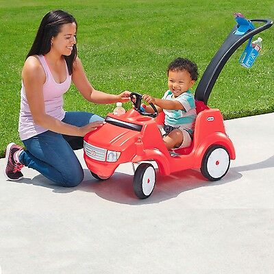 Little Tikes 2-IN-1 RIDE N DRIVE BUGGY w PUSH HANDLE