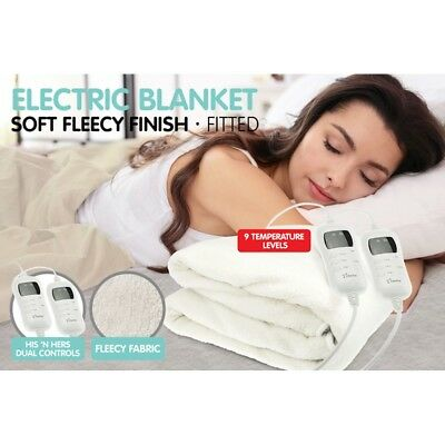 Stella Fully Fitted Fleece Electric Blankets King Size - Keep Warm this Winter
