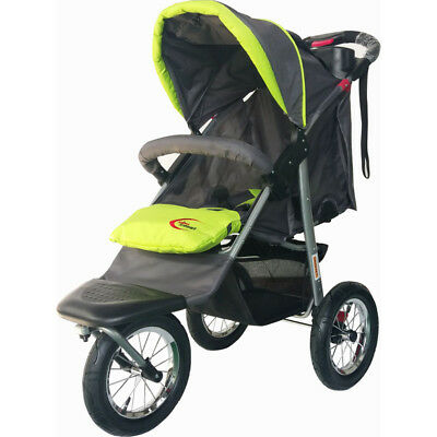 Mamakiddies 3-in-1 Baby Pram, Stroller and Jogger