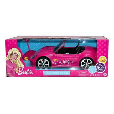 Barbie Convertible Car the two-seater vehicle is Barbie signature style.