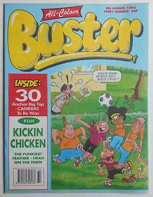 BUSTER COMIC - 8th August 1992